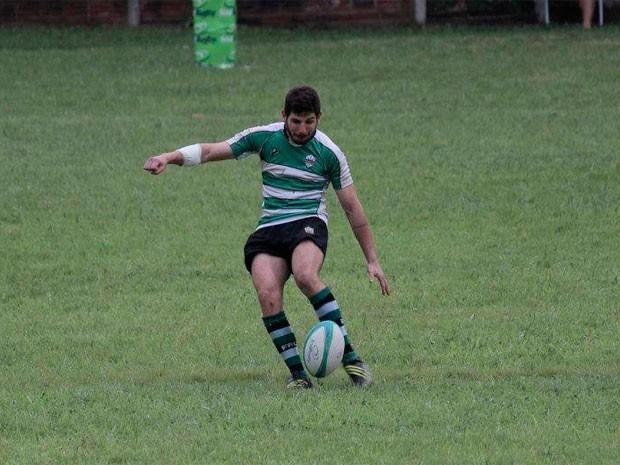 Jogador de rúgbi é baleado no rosto no RS (Foto: Reprodução/Facebook)