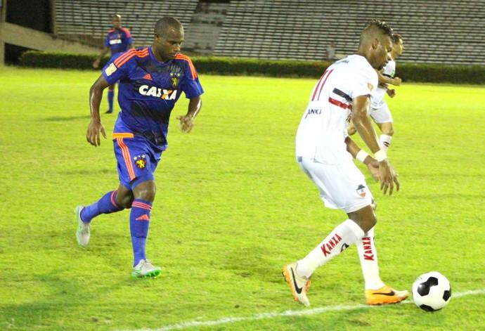 River-PI x Sport Copa do Nordeste (Foto: Renan Morais / GloboEsporte.com)