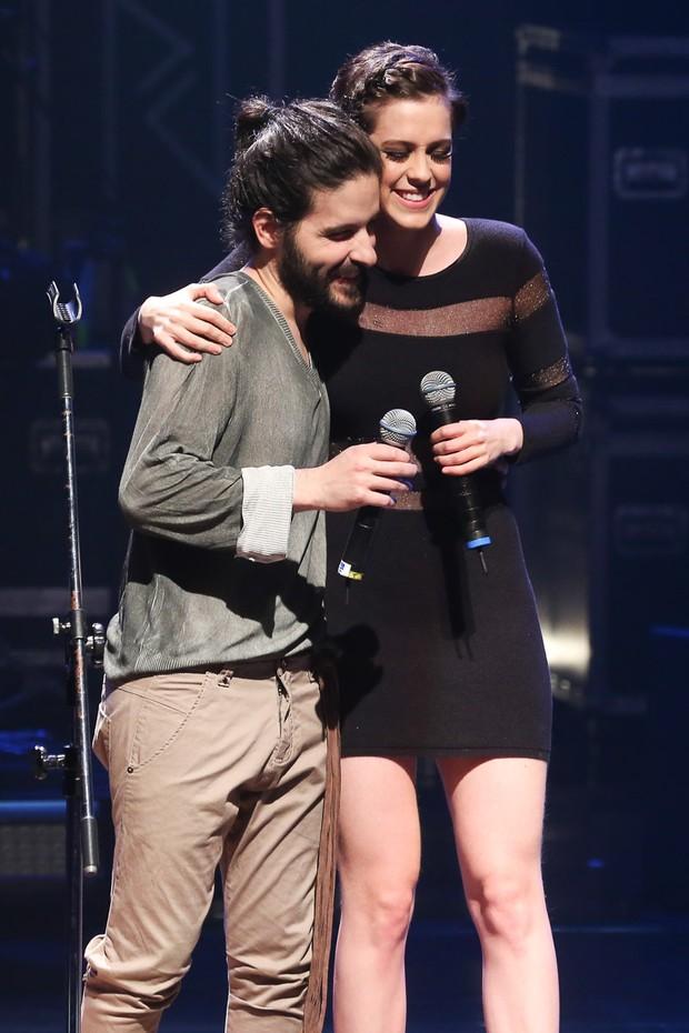 Gustavo Pagan e Sophia Abrahão (Foto: Manuela Scarpa/Brazil News)