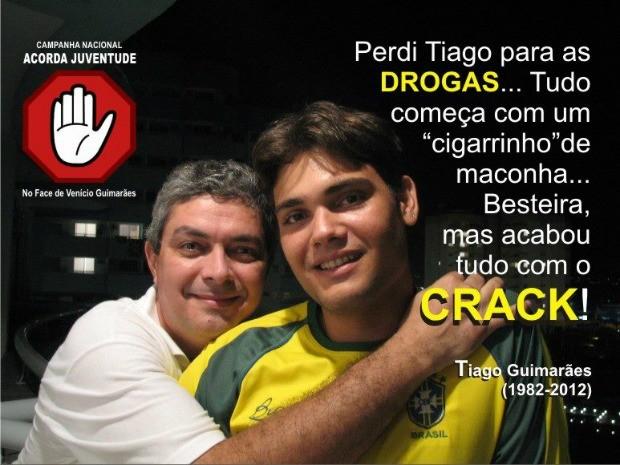 Imagem que virou símbolo da campanha foi compartilhada mais de 130 mil vezes em rede social (Foto: Venicio Guimarães)