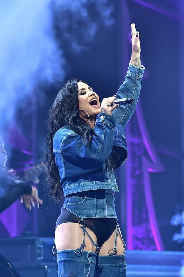 A cantora Demi Lovato  (Foto: Getty Images)