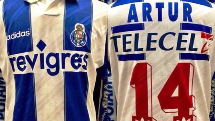 Camisa Artur Oliveira, Porto (Foto: Arquivo Pessoal)