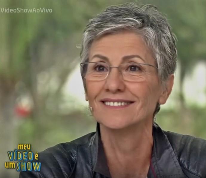 Cassia Kis estreia novo quadro do 'Vídeo Show' (Foto: TV Globo)