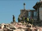 Novo tremor de terra na Itália coloca em risco as equipes de salvamento