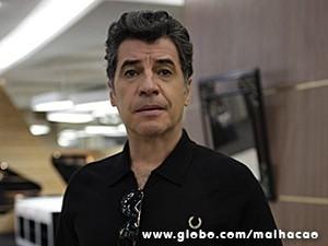 Caetano tem negócios muito suspeitos (Foto: Malhação / TV Globo)