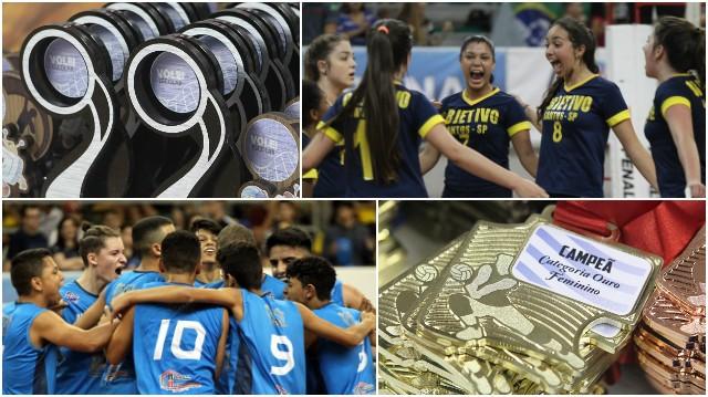 Melhores momentos da Copa TV Tribuna de Vôlei Escolar (Foto: Alex Ferraz)