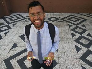Ferreira chega a faturar R$ 4 mil por mês (Foto: Hygino Vasconcellos)