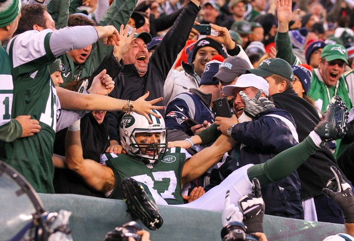 New York Jets x New England Patriots - Eric Decker (Foto: Reuters)