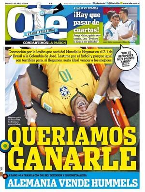 Capa Olé Neymar (Foto: Reprodução)