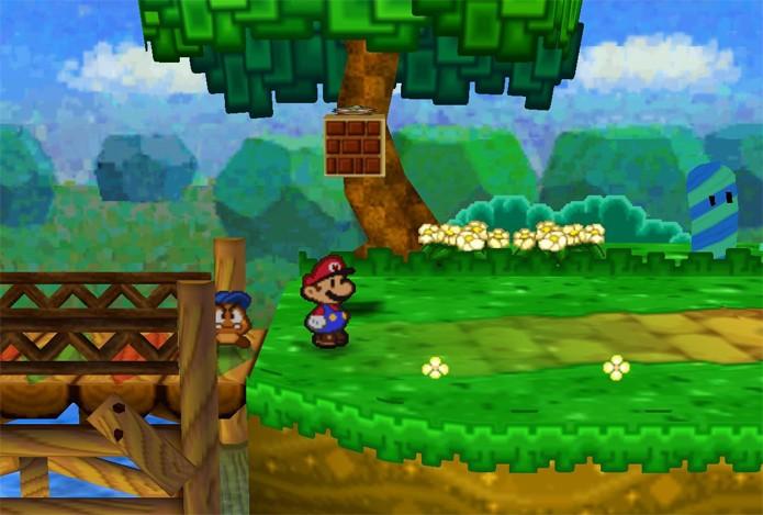 A sequência de Super Mario RPG acabou virando Paper Mario (Foto: Reprodução/YouTube)