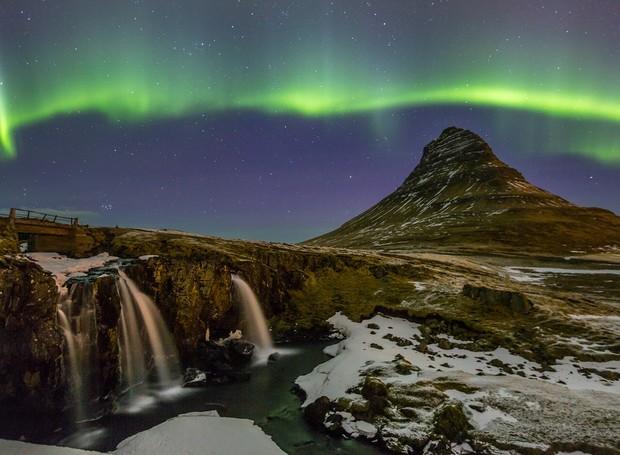 9-Mount-Kirkjufell-lugares-incriveis-aurora-boreal (Foto: Thinkstock)