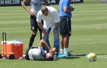 Léo Jabá sente dores na coxa e vira dúvida para partida contra Cruzeiro