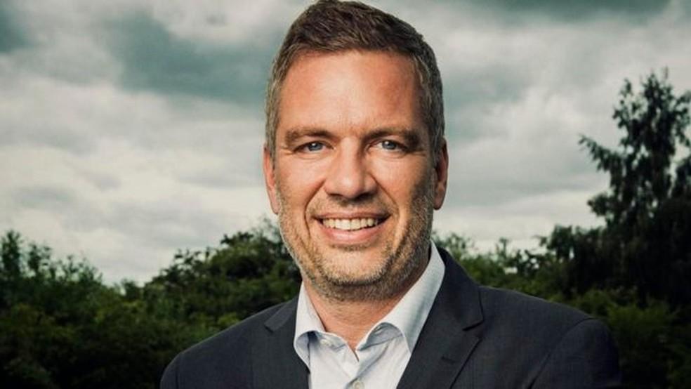 Dinamarquês Michael Stausholm foi à falência com sua primeira empresa, apesar do otimismo do sócio  (Foto: Arquivo pessoal/ BBC)