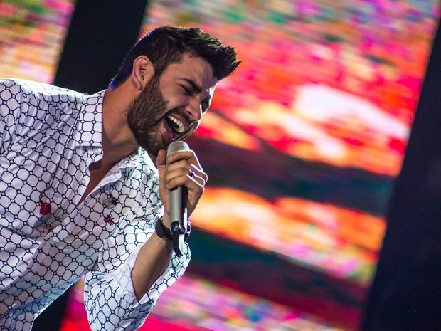Gusttavo Lima se apresenta neste sábado, em Itatiba (Foto: Mateus Rigola/G1)