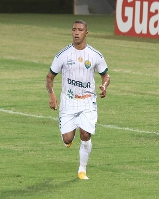 Tiago Amaral, atacante do Cuiabá (Foto: Olímpio Vasconcelos)