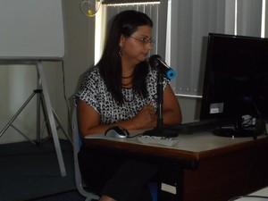 Adriana Beringuy, técnica da Coordenação de Emprego e Renda do IBGE (Foto: Lilian Quaino/G1)