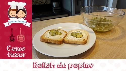 Relish de pepino (Casal na Cozinha #21