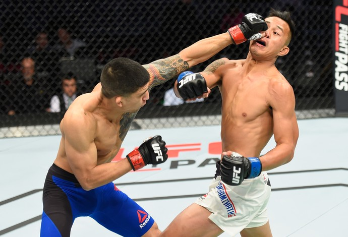 Albert Morales Andre Soukhamthath UFC 209 (Foto: Getty Images)