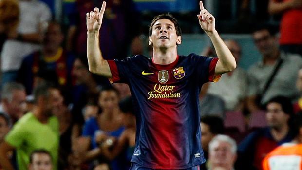 Lionel Messi barcelona gol real sociedad (Foto: Agência Reuters)