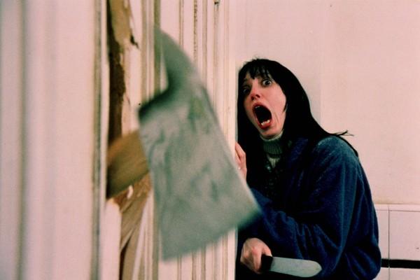 A atriz Shelley Duvall em cena de 'O Iluminado' (1980) (Foto: Reprodução)