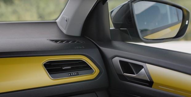 Volkswagen T-Roc interior  (Foto: Reprodução )