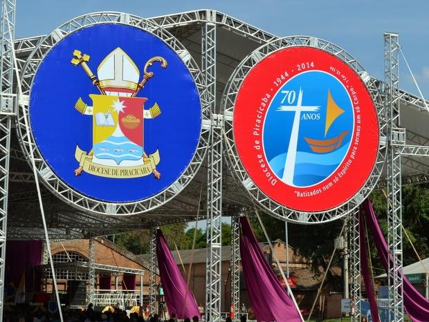 Igreja Católica comemora 70 anos de Diocese em Piracicaba (Foto: Fernanda Zanetti/G1)