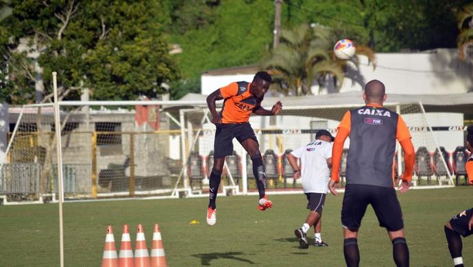 Kanu; treino do Vitória (Foto: Divulgação/EC Vitória)