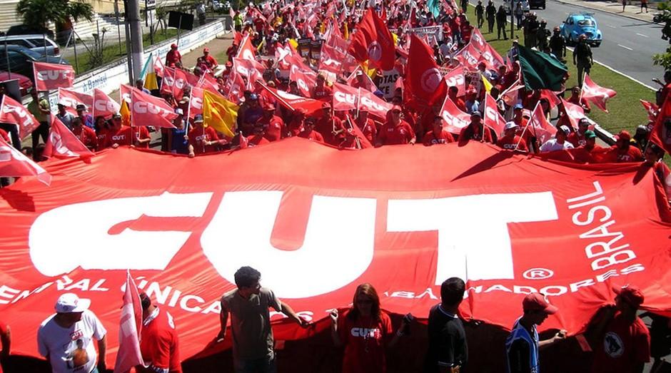 Bandeira da CUT: centrais sindicais estão se organizando (Foto: Divulgação)