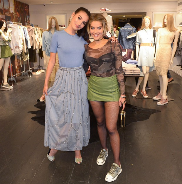Marina Moschen e Isabella Santoni (Foto: Francisco Cepeda/AgNews)