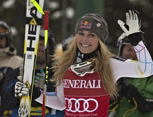 Lindsey Vonn esqui alpino Copa do Mundo de Lake Louise (Foto: Reuters)