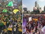 Cidades têm domingo de protestos contra Dilma e contra Temer