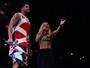 Xanddy canta com Claudia Leitte em ensaio do Harmonia do Samba