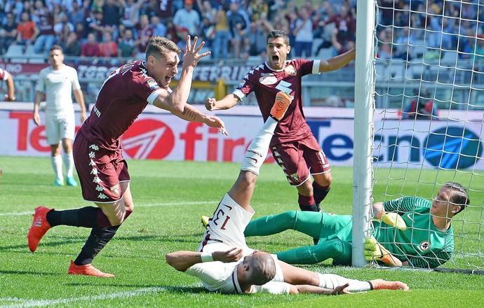 Andrea Belotti gol Torino Roma (Foto: EFE)