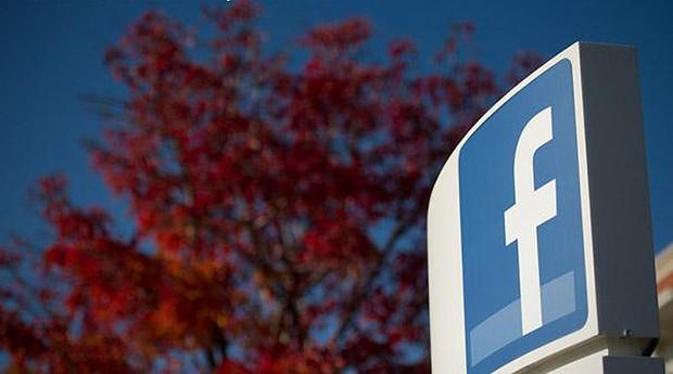 Logotipo do Facebook na sede da empresa na Califórnia (Foto: Reprodução/Facebook)
