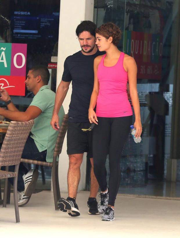 Sophie Charlotte e Daniel de Oliveira (Foto: ANDRE FREITAS)