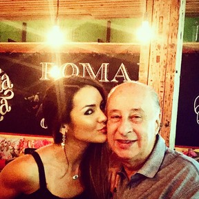 Carol Muniz e Marco Antonio Del NEro (Foto: Reprodução/Instagram)