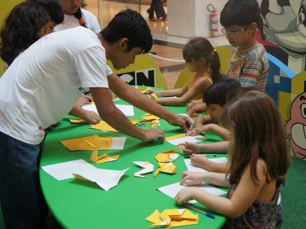 Evento mostra às crianças a importância da reciclagem (Foto: Divulgação)