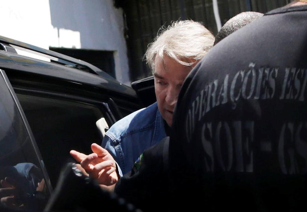 Eike Batista, que cumpre prisão domiciliar, pode ser preso novamente. Afirmação é do advogado dele, Fernando Martins, que pede reconsideração do bloqueio de bens do empresário. (Foto: Ueslei Marcelino/Reuters)