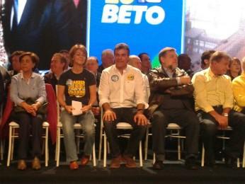PSDB decidiu pela candidatura de Beto Richa para o Governo do Paraná (Foto: Thais Kaniak/ G1)