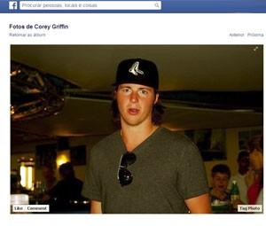 Corey Griffin em foto de 2012 (Foto: Reprodução/Facebook/Corey Griffin)