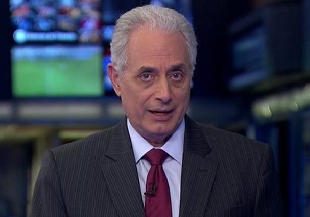 William Waack é afastado do Jornal da Globo (Foto: Twitter/Reprodução)