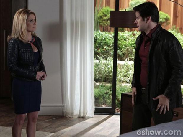 Marra discute com Megan (Foto: Geração Brasil / TV Globo)
