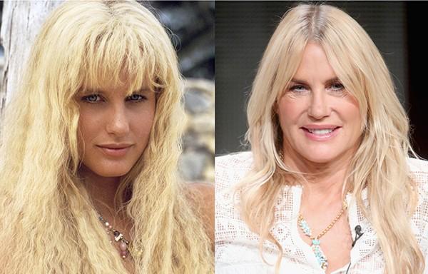 Daryl Hannah em 1984 e em 2015 (Foto: Reprodução / Getty Images)