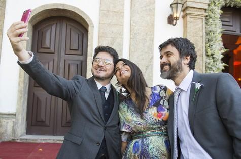 Guilherme PIva, Emanuelle Araújo e Eriberto Leão (Foto: João Miguel Júnior/TV Globo)