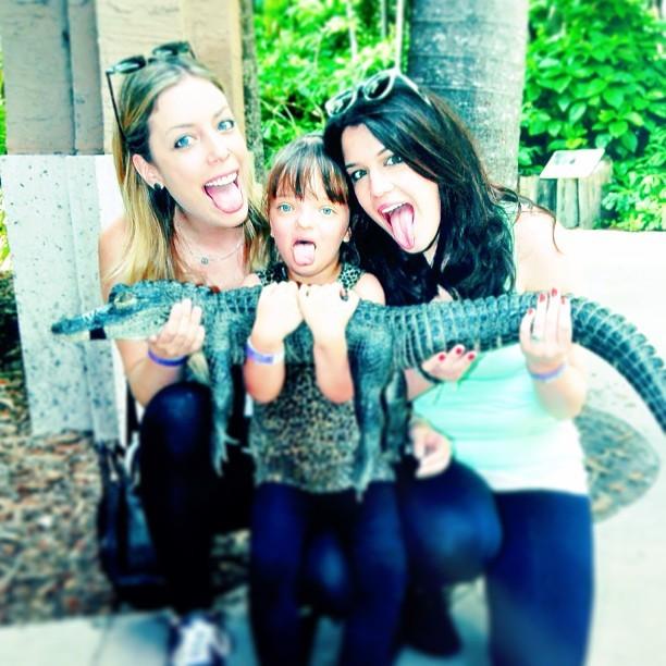 Rafa Justus e irmãs, Fabiana e Luíza (Foto: Instagram / Reprodução)