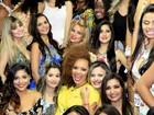 Lucinha Nobre, irmã de Dudu Nobre, inova em concurso de beleza no Rio