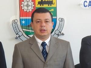 Prefeito Flávio Gomes de Souza (Foto: Reprodução/Jornal Sem Limites)
