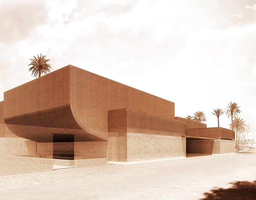 A fachada do novo museu dedicado ao legado de YSL (Foto: Reprodução)
