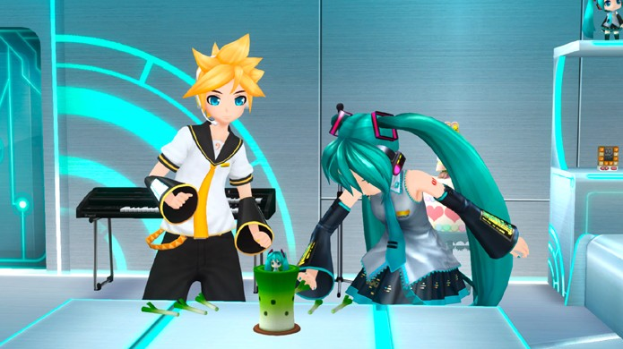 A interação com os personagens não é muito interessante no jogo (Foto: operationrainfall.com)