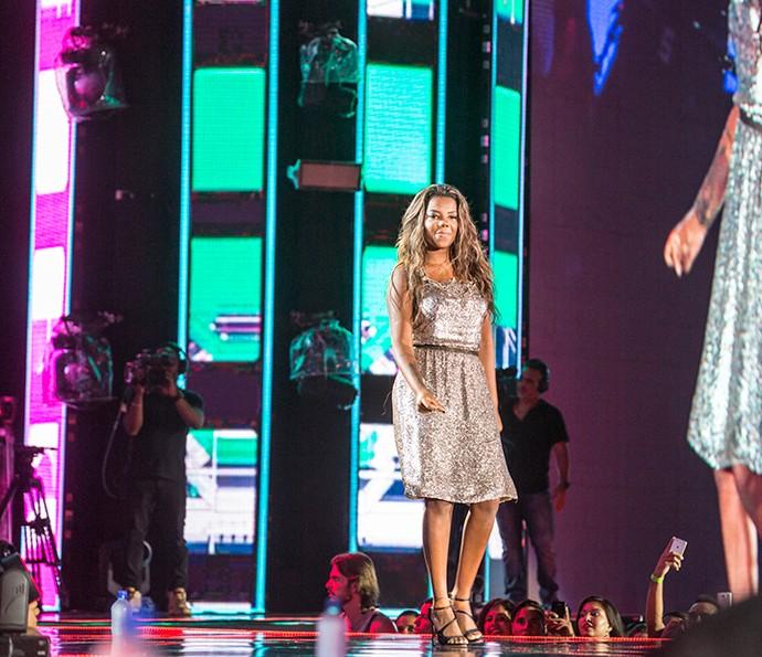 Ludmilla é convidado de Luan Santana no Show da Virada (Foto: Ellen Soares/Gshow)